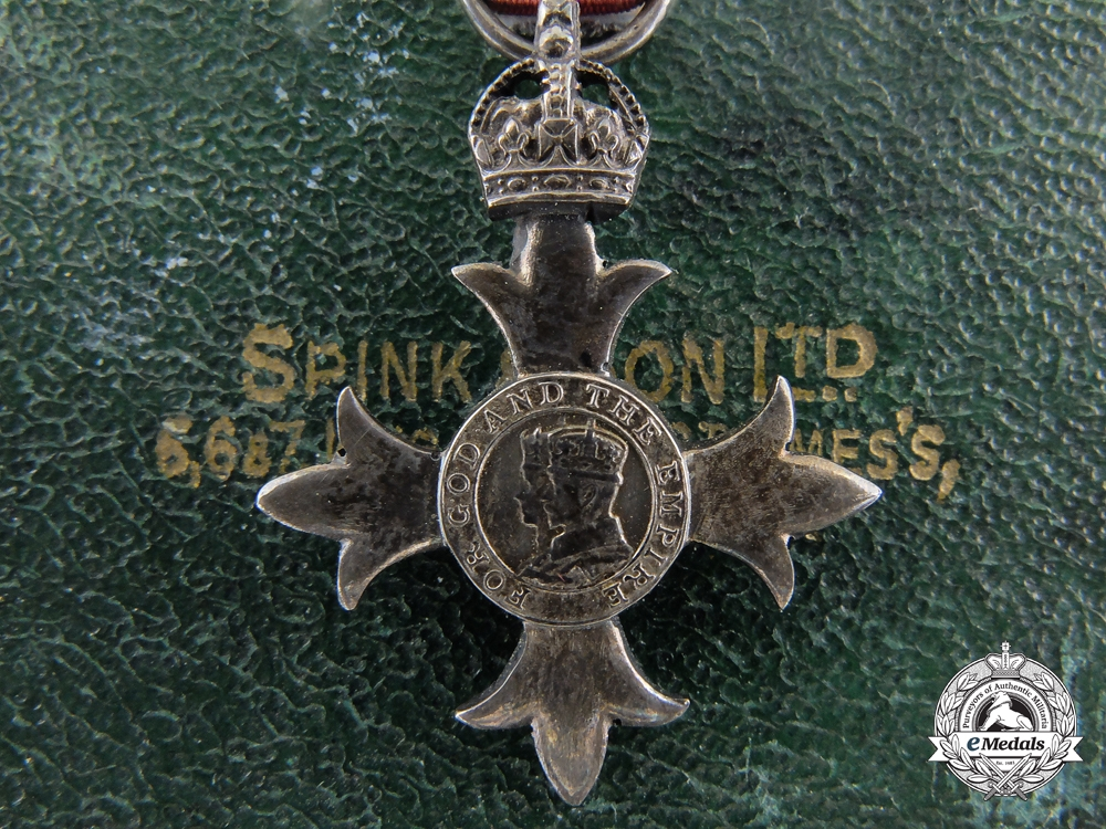 eMedals-A Miniature Most Excellent Order of the British Empire