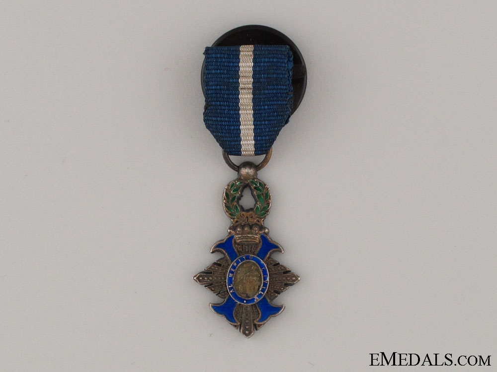 eMedals-A Miniature Order of Civil Merit