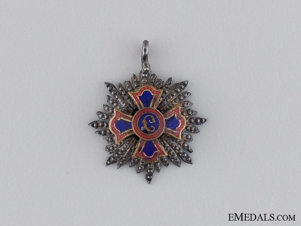 eMedals-A Miniature Order of Merit of Liechtenstein
