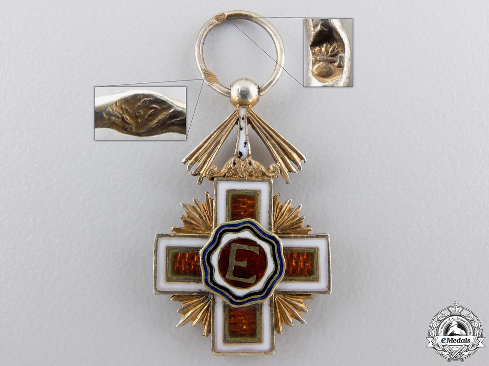 eMedals-A Miniature Order of the Estonian Red Cross