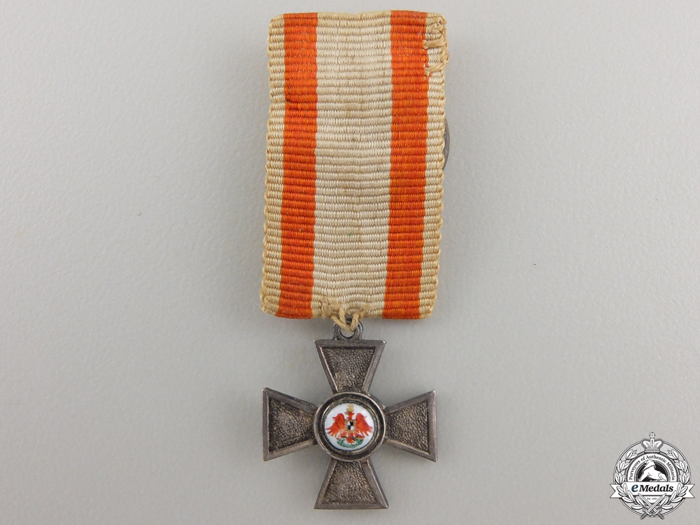 eMedals-A Miniature Prussian Order of the Red Eagle; 4th Class