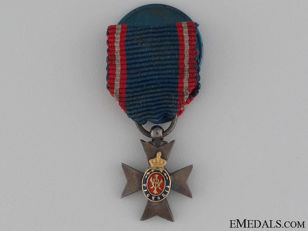 eMedals-A Miniature Royal Victorian Order, MVO