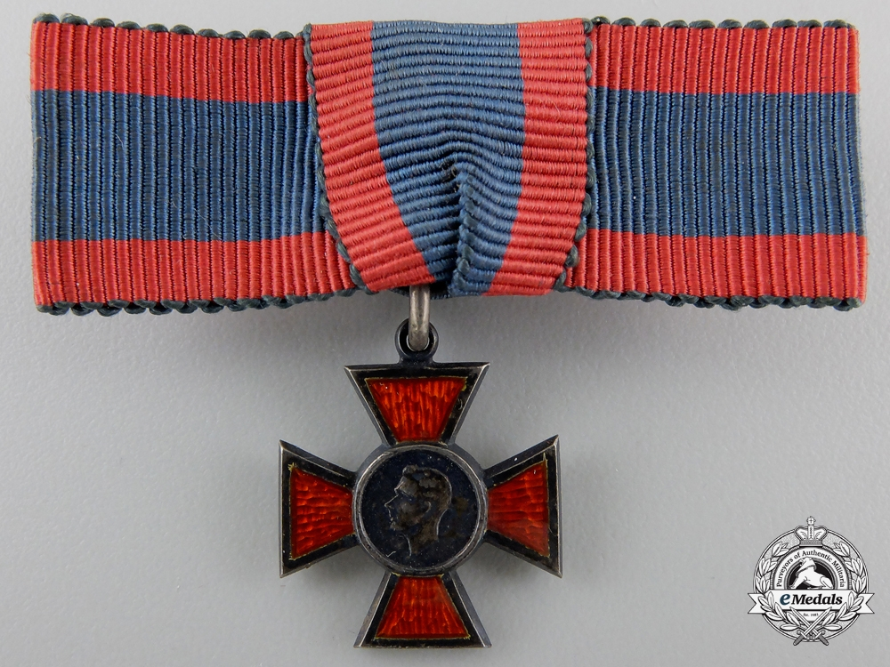 eMedals-A Miniature Royal Red Cross; 1st Class