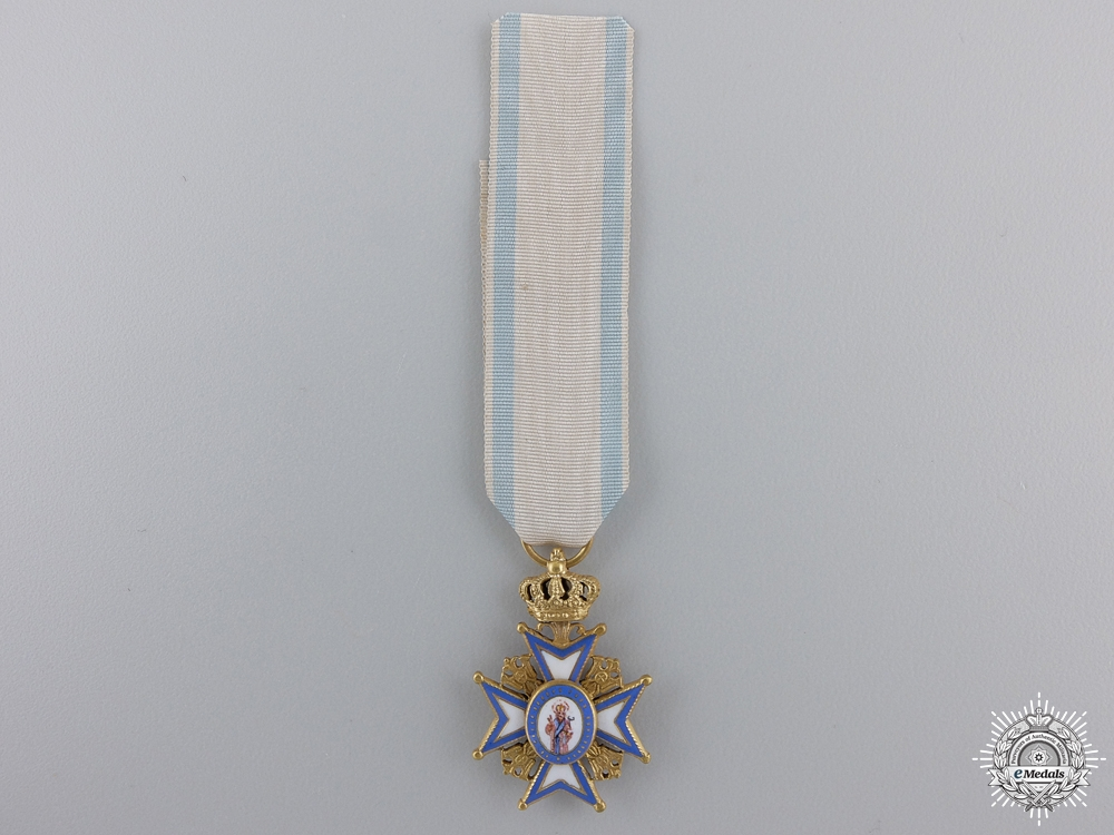 eMedals-A Miniature Serbian Order of St. Sava in Gold; Type I