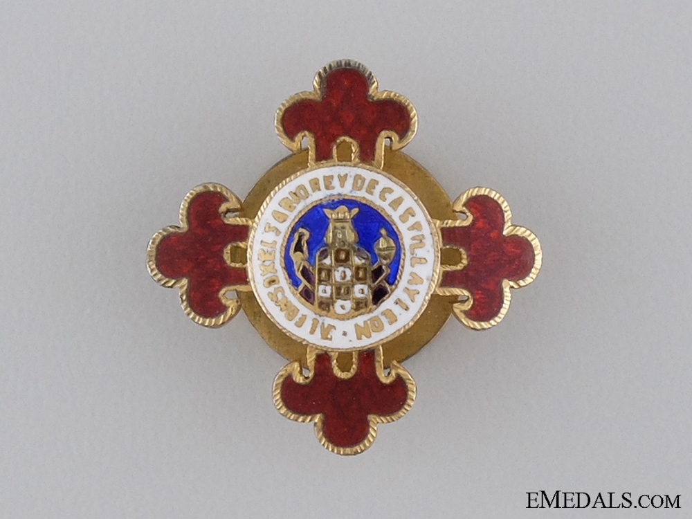 eMedals-A Miniature Spanish Order of Alphonso