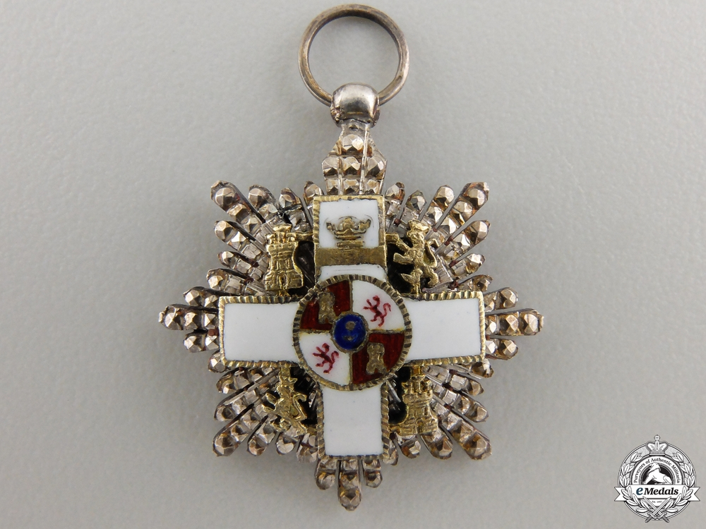 eMedals-A Miniature Spanish Order of Military Merit