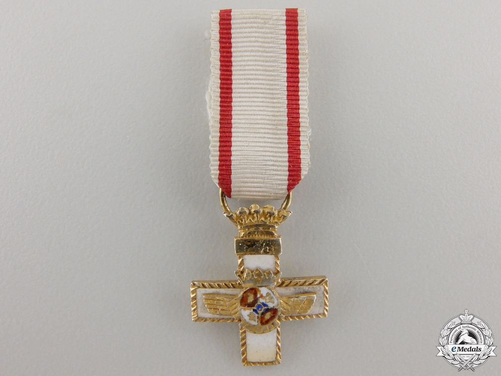 eMedals-A Miniature Spanish Air Force Order of Merit