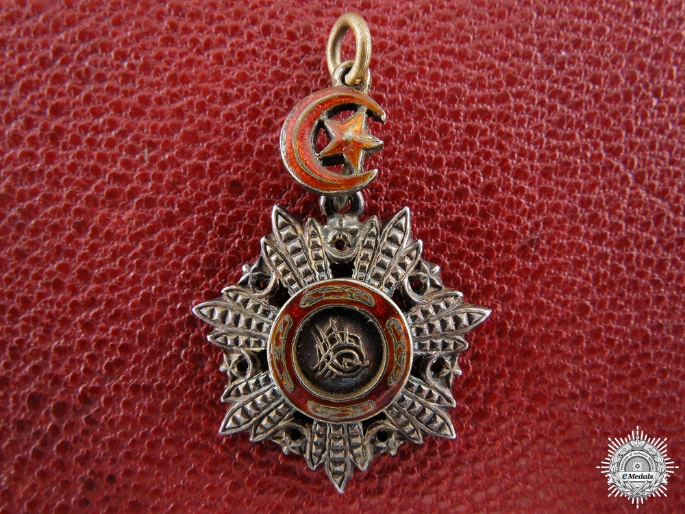 eMedals-A Miniature Turkish Order of Medjidie;
