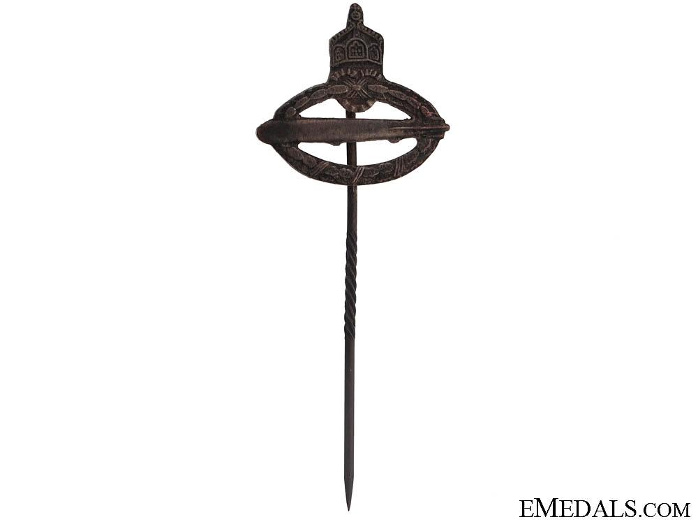 eMedals-A Miniature Zeppelin Stickpin