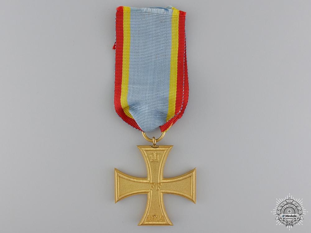 eMedals-A Mint 1914 Mecklenburg Schwerin War Cross