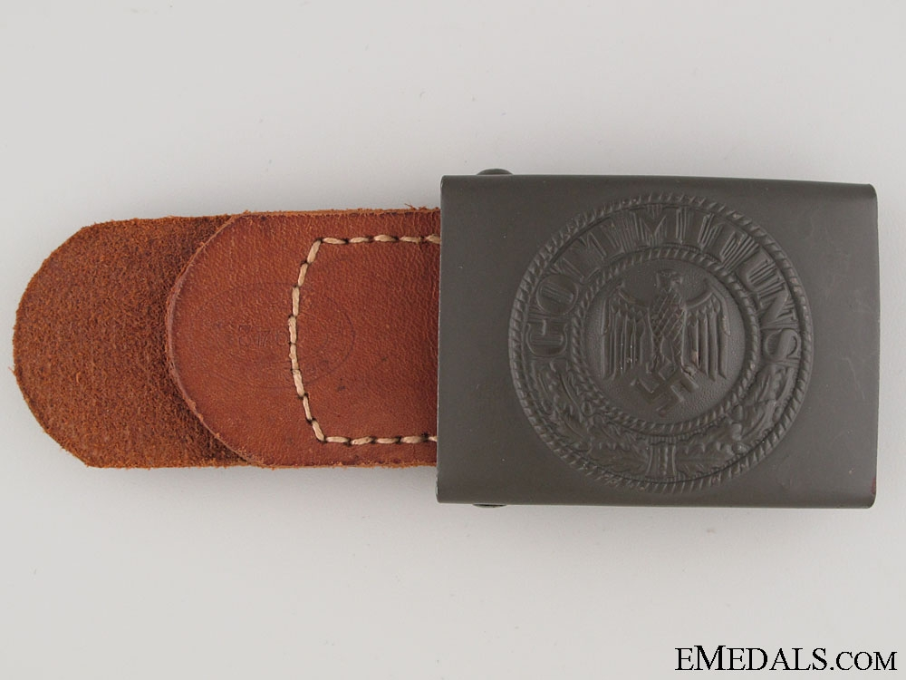eMedals-A Mint 1942 Army EM/NCOS Buckle