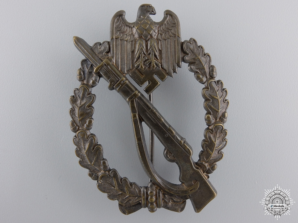 eMedals-A Mint Bronze Grade Infantry Badge; Meybauer