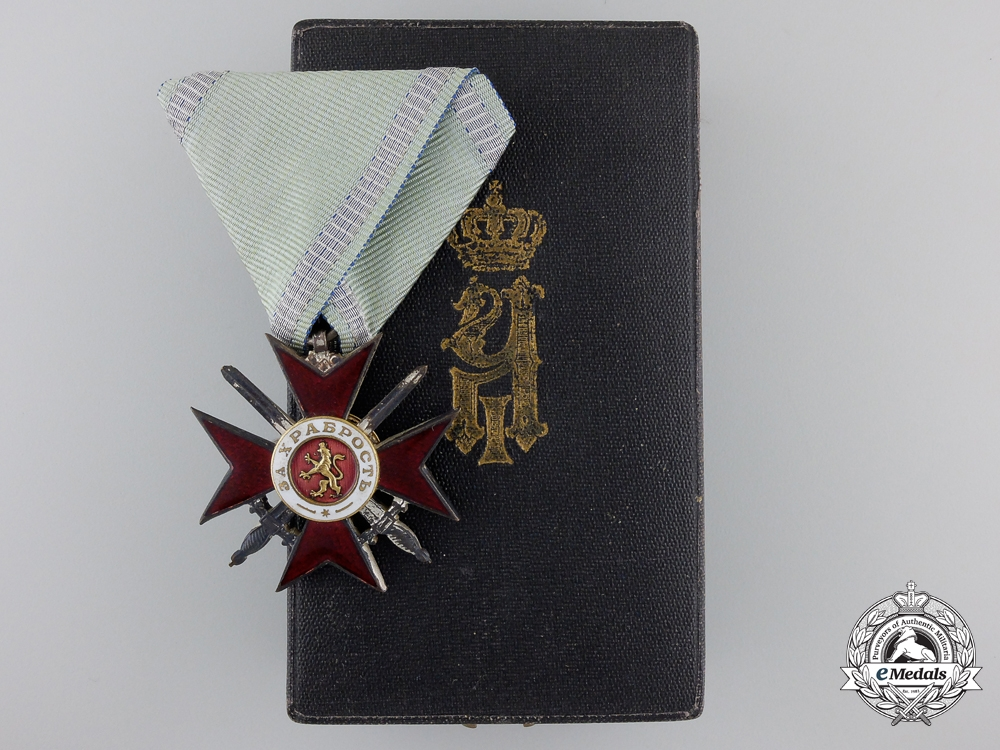 eMedals-A Mint Bulgarian Military Order for Bravery; 4th Class