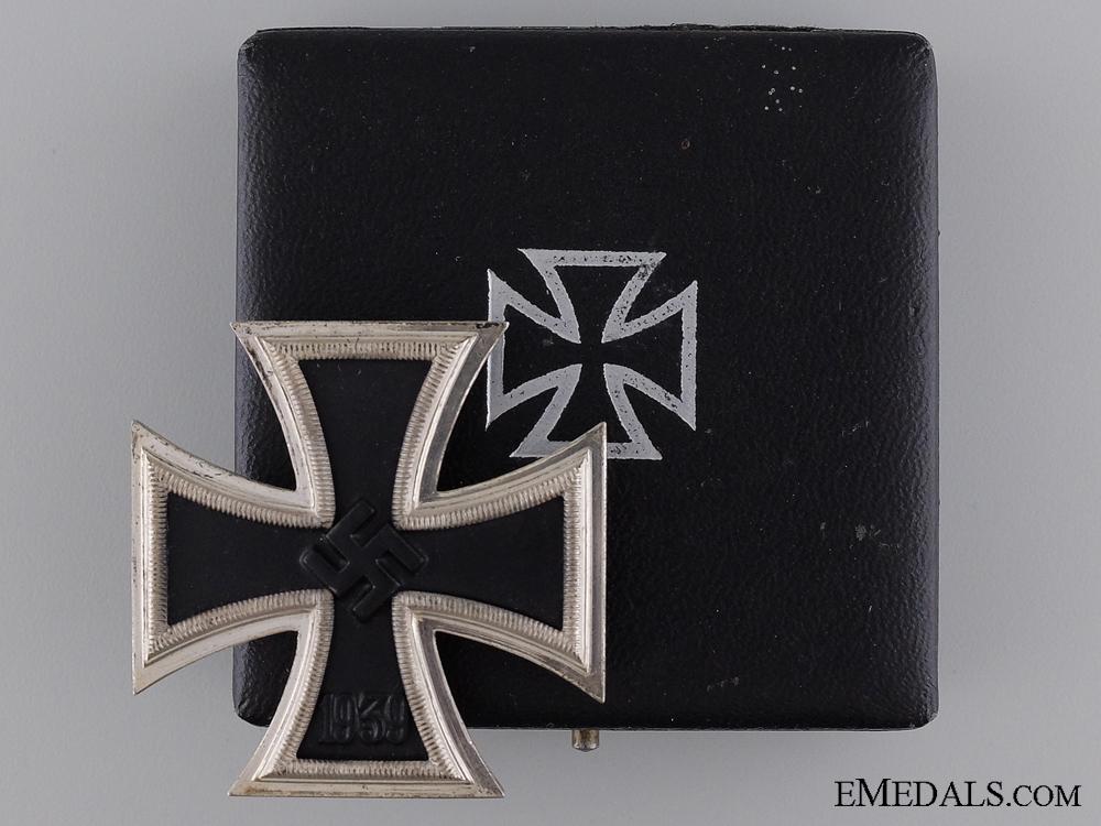eMedals-A Mint Cased Iron Cross First Class by Klein & Quenzer