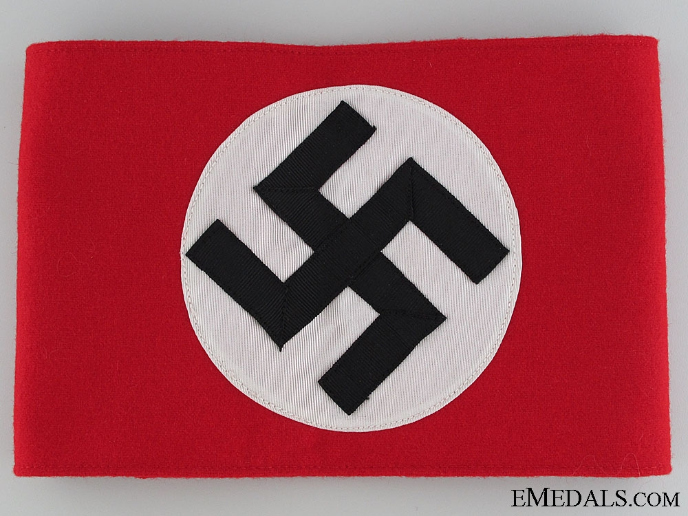 eMedals-A Mint Early War NSDAP Arm Band