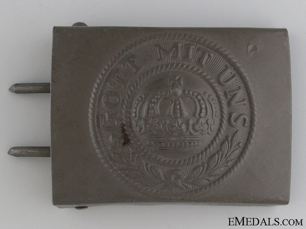 eMedals-A Mint German Imperial Belt Buckle