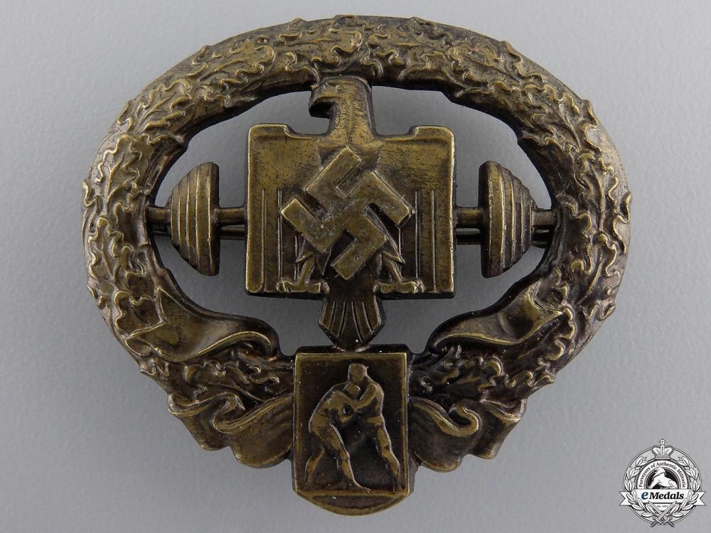 eMedals-A Mint Heavy Athletics Sports Badge