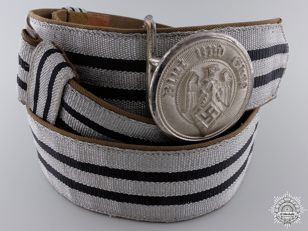 eMedals-A Mint HJ Leaders Belt & Buckle by Christian Theodor Dicke