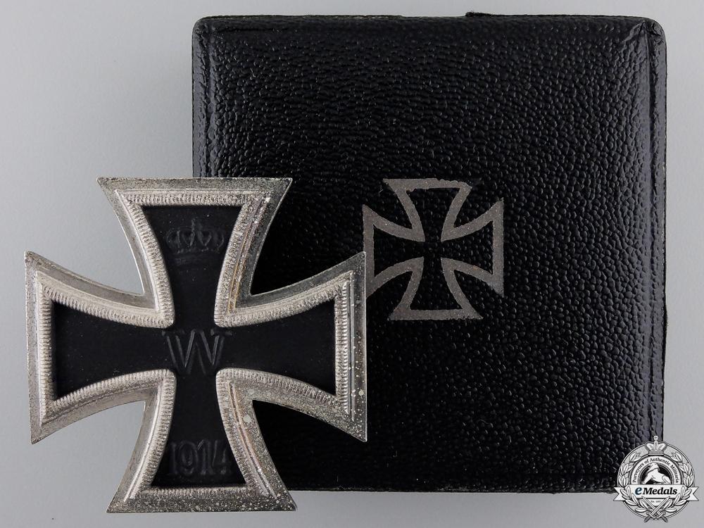 eMedals-A Mint Iron Cross First Class 1914 by B. H. Mayer, Pforzheim