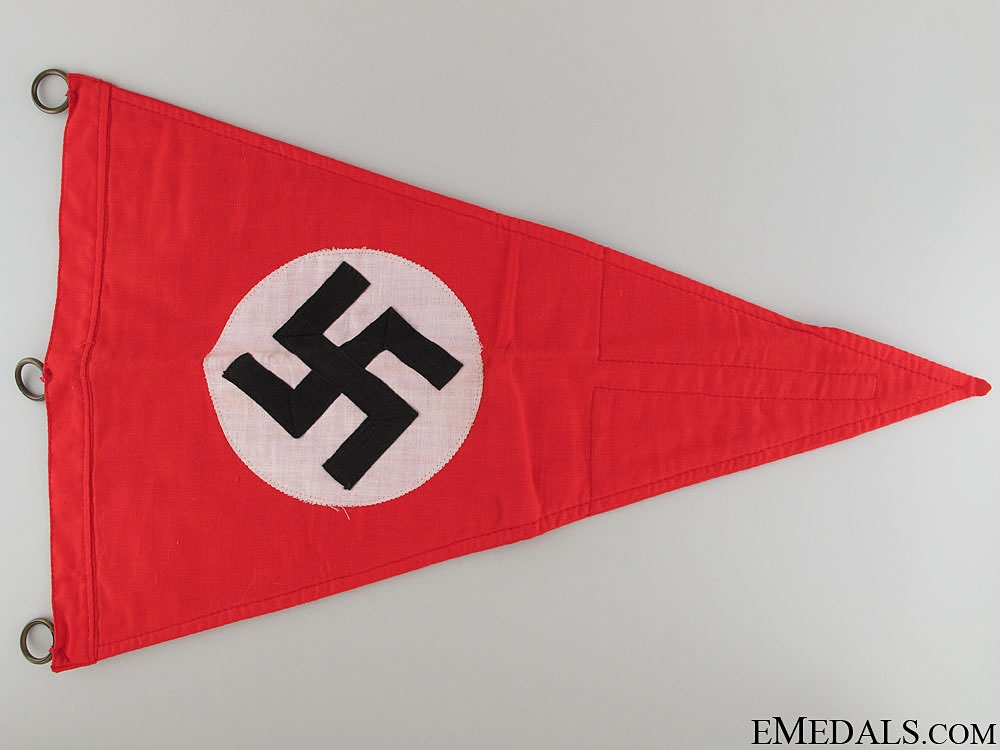 eMedals-A Mint Political Car Pennant