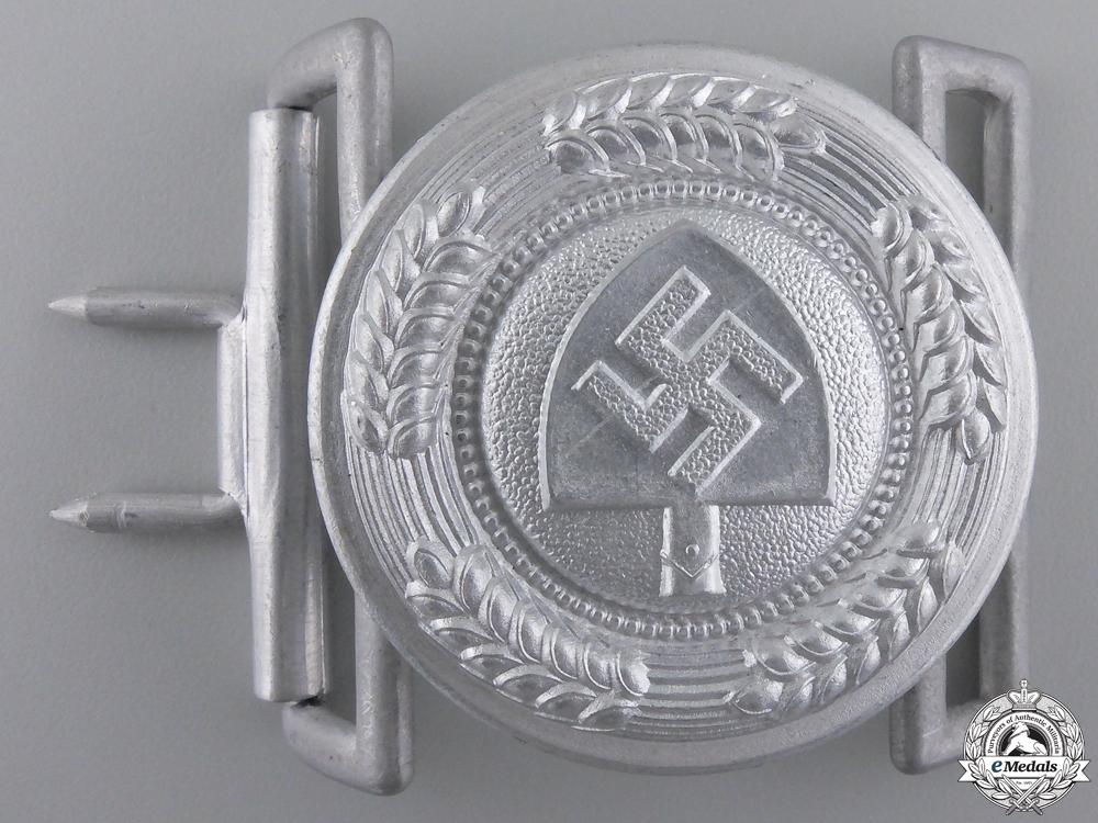 eMedals-A Mint RAD Reich Labor Service; Leader's Belt Buckle