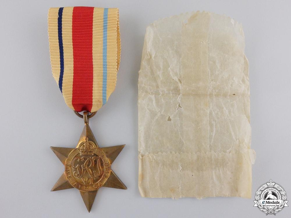 eMedals-A Mint Second War Africa Campaign Star