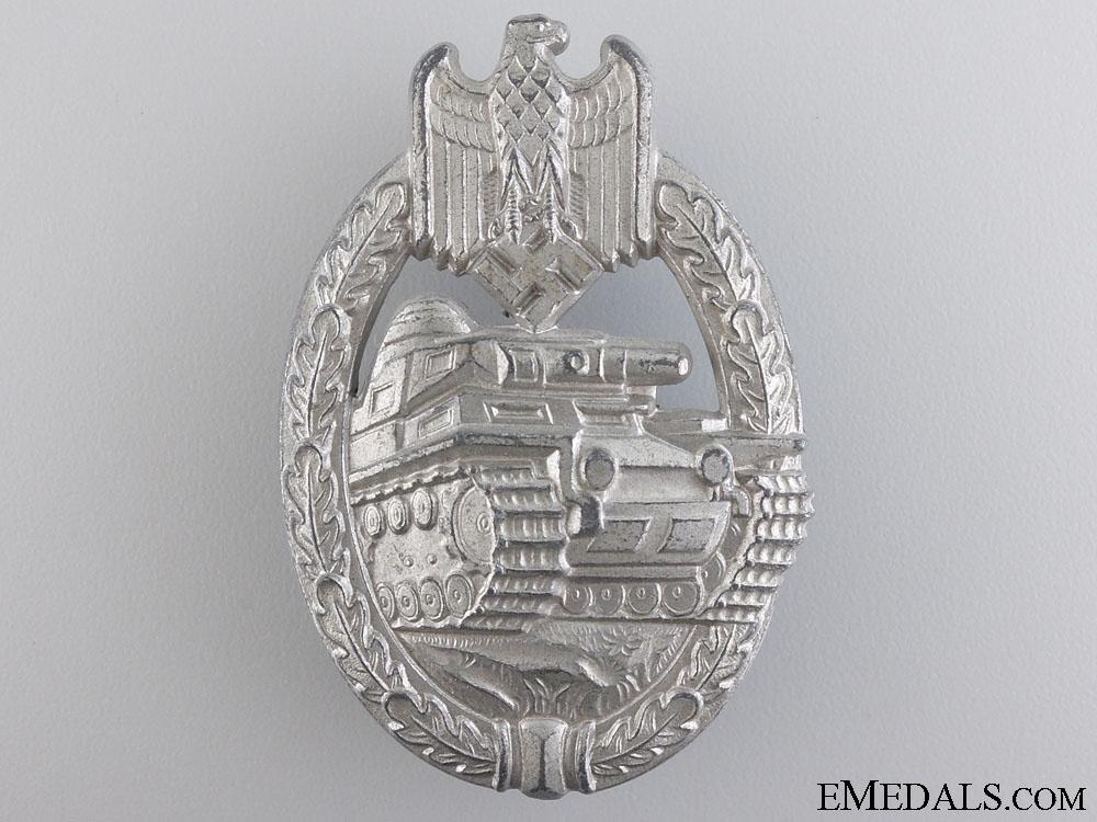 eMedals-A Mint Tank Badge; Silver Grade