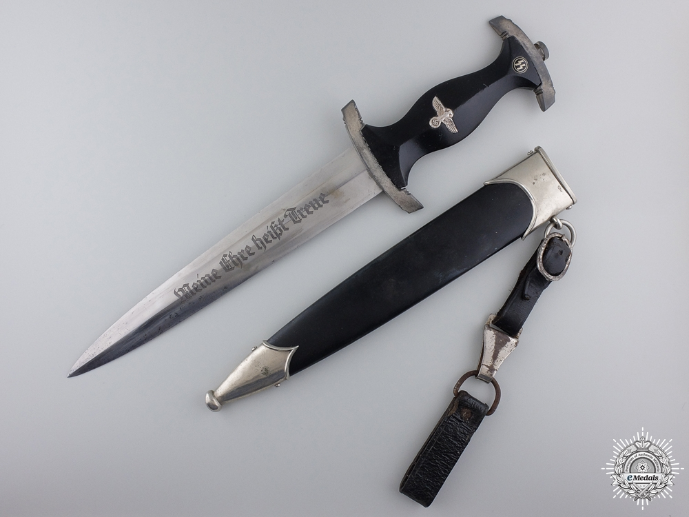 eMedals-A Model 1933 SS Service Dagger by SS 807/36 RZM