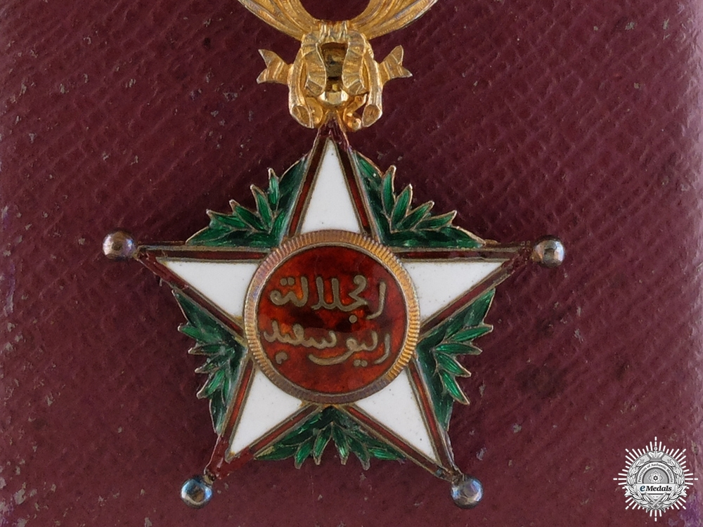 eMedals-A Moroccan Order of Ouissam Alaouite; Office