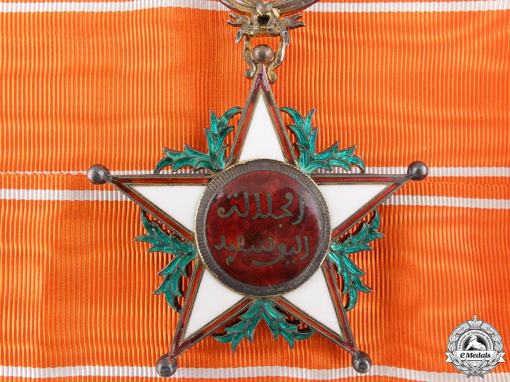 eMedals-A Moroccan Order of Ouissam Alaouite; Commander's
