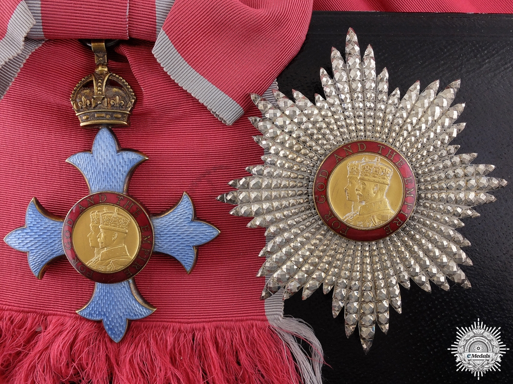 eMedals-A Most Excellent Order of the British Empire; Knight Grand Cross (GBE