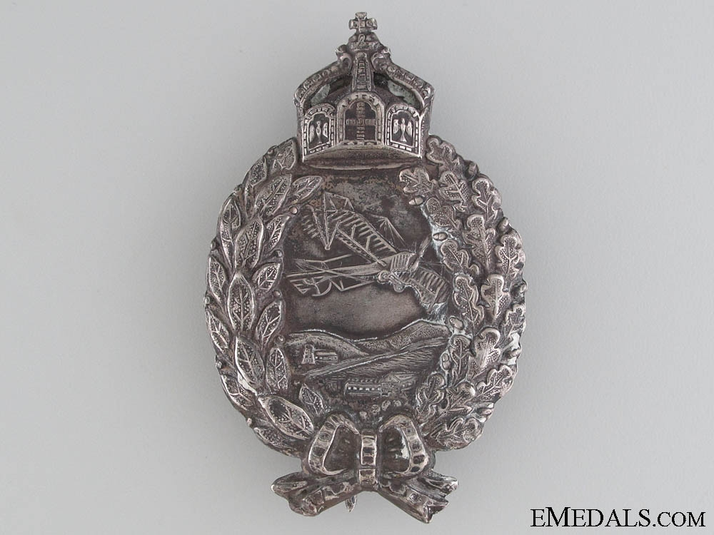eMedals-A Named WWI Pilot's Badge by Juncker