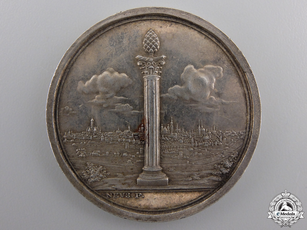 eMedals-A Napoleonic 1796 Augsburg Militia Service Medal