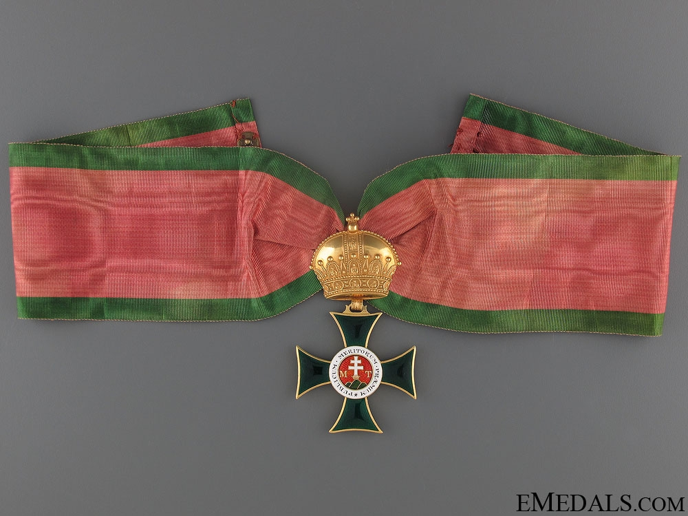 eMedals-A Napoleonic Austrian Order of St. Stephen in Gold