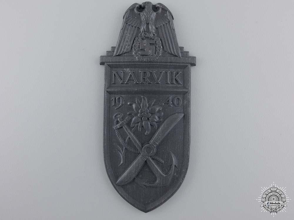 eMedals-A Narvik Campaign Shield; Silver Grade