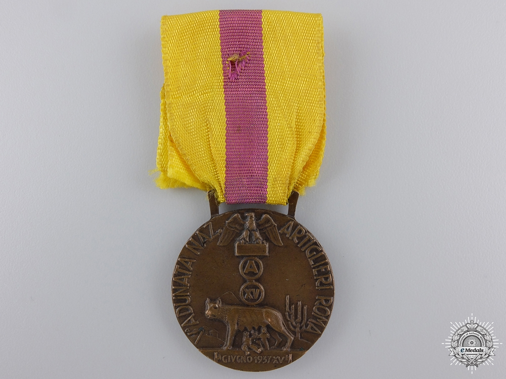 eMedals-A National Artillery Gunners Gathering in Rome Medal