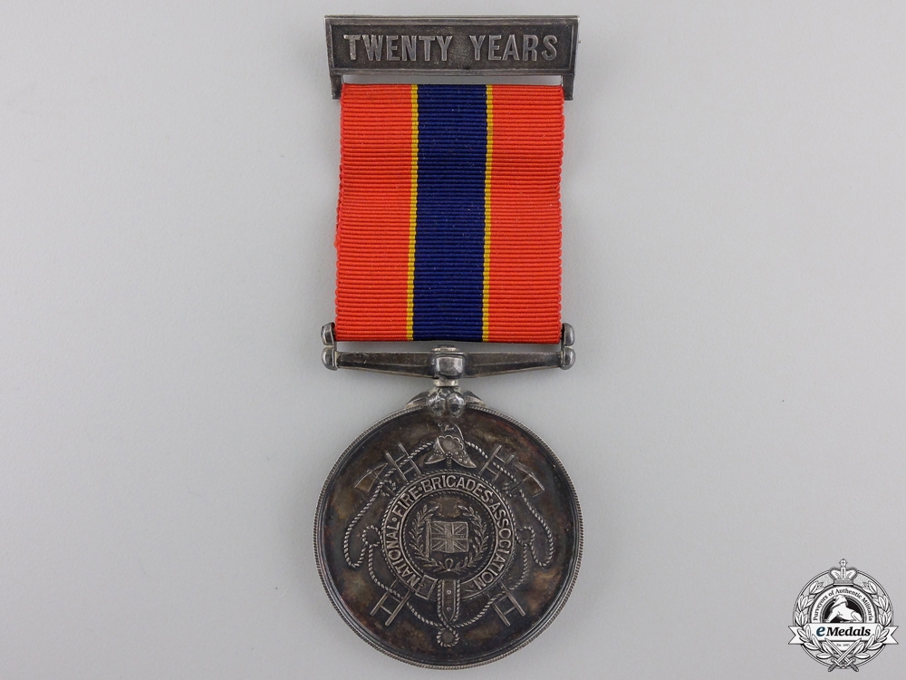 eMedals-A National Fire Brigades Association Long Service Medal
