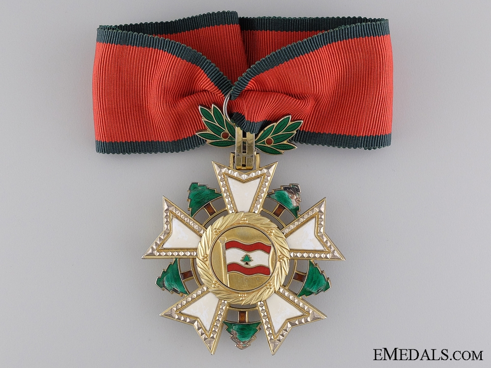 eMedals-A National Lebanese Order of the Cedar