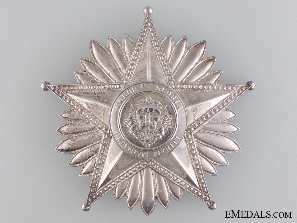 eMedals-A National Merit Order of Paraguay; Grand Cross Star