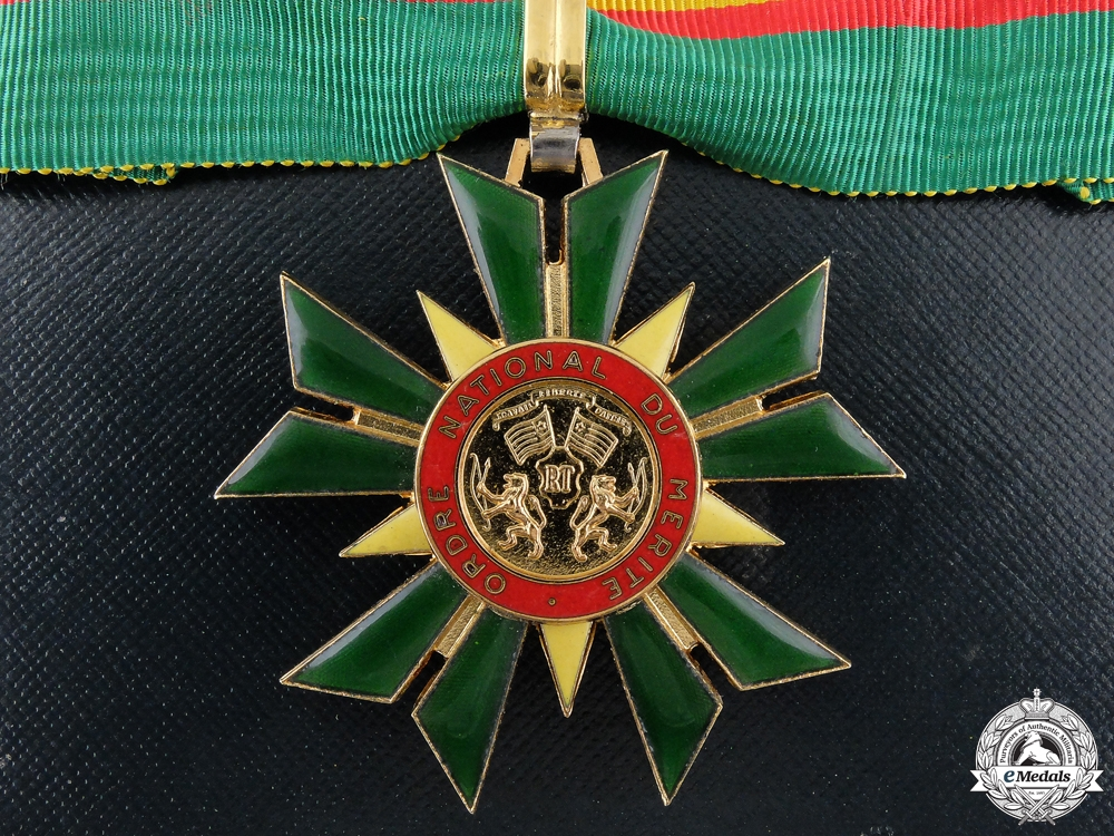 eMedals-A National Order of Merit of Togo; Commander