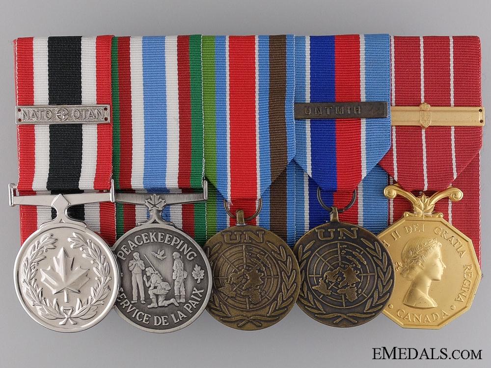 eMedals-A NATO & UN Medal Bar to Corporal J.A.D. LaRoche