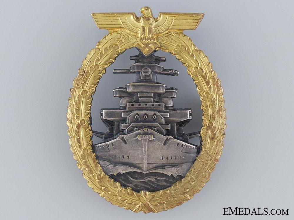 eMedals-A Near Mint High Seas Fleet Badge by Schwerin