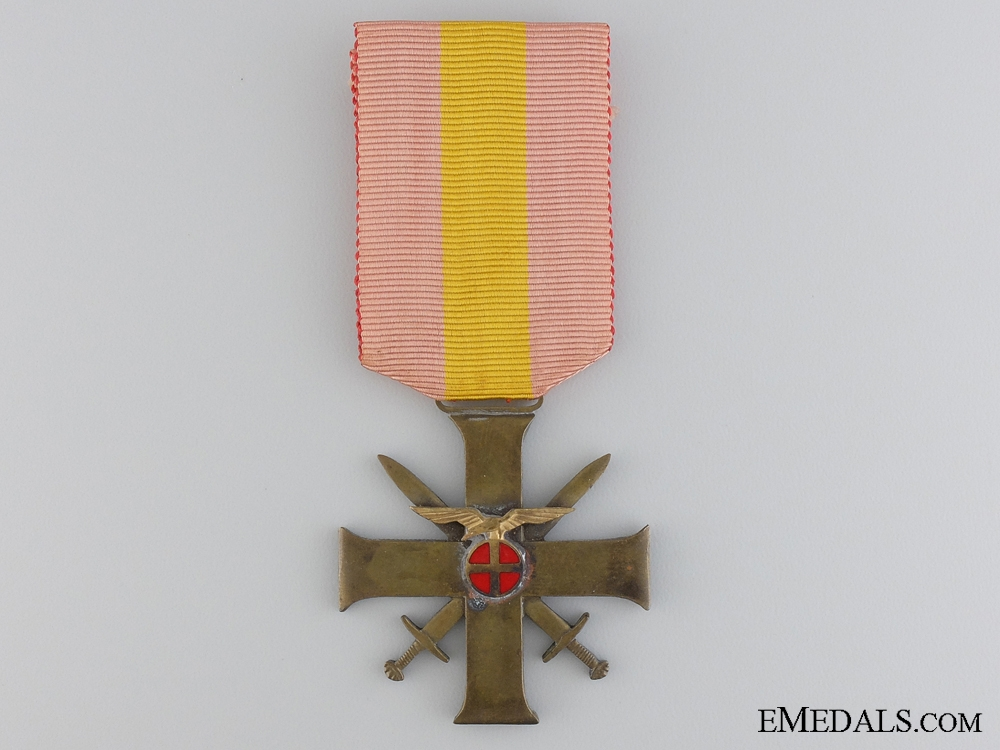 eMedals-Norway. A Merit Cross with Swords, Quisling issue, Type II, C.1942