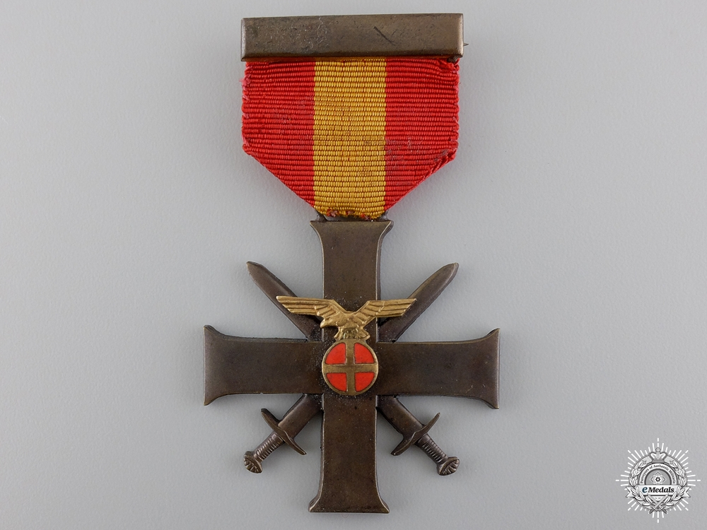 eMedals-A Norwegian Merit Cross with Swords 1940-45; Quisling Issue