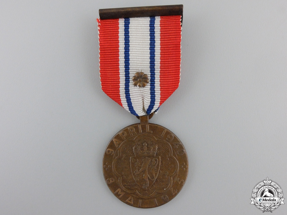 eMedals-A Norwegian War Participation Medal 1940-1945