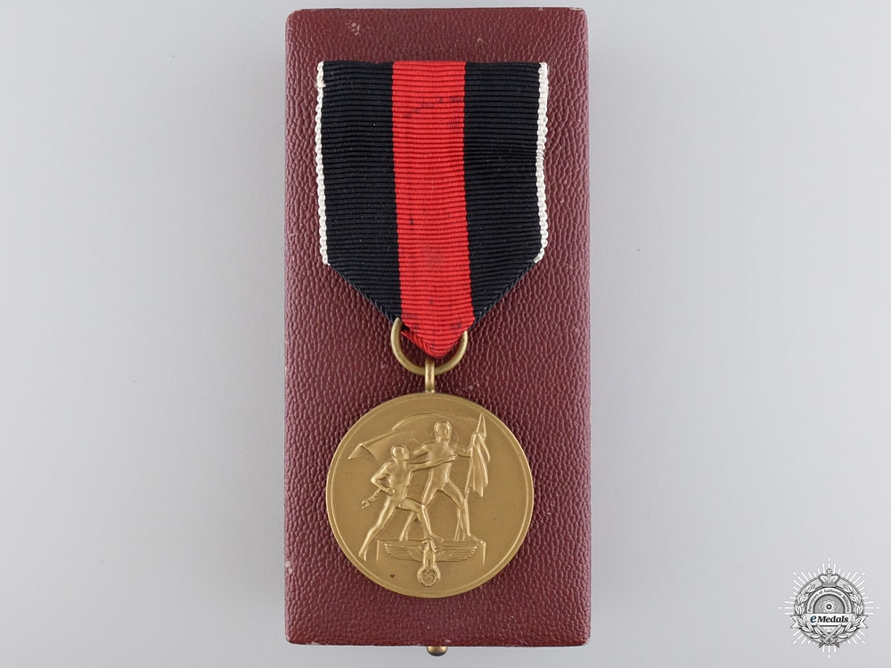 eMedals-A October 1st 1938 Commemorative Medal