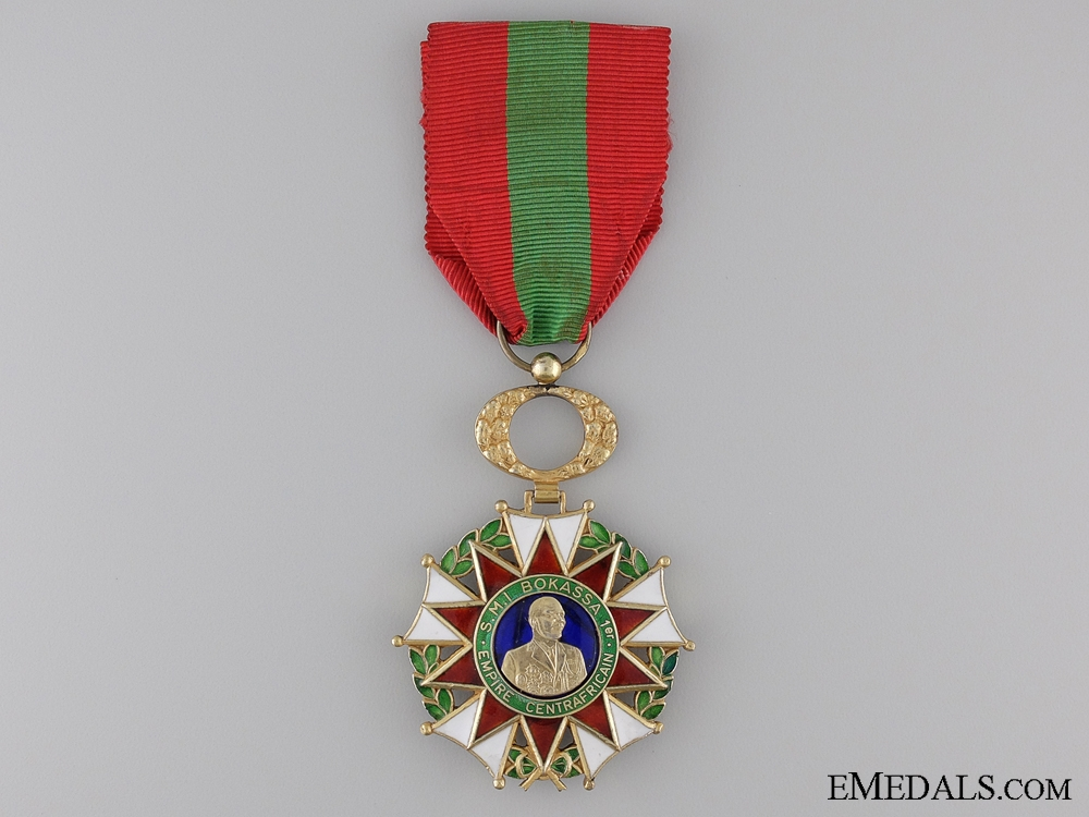 eMedals-A Order of Operation Bokassa; Central African Republic