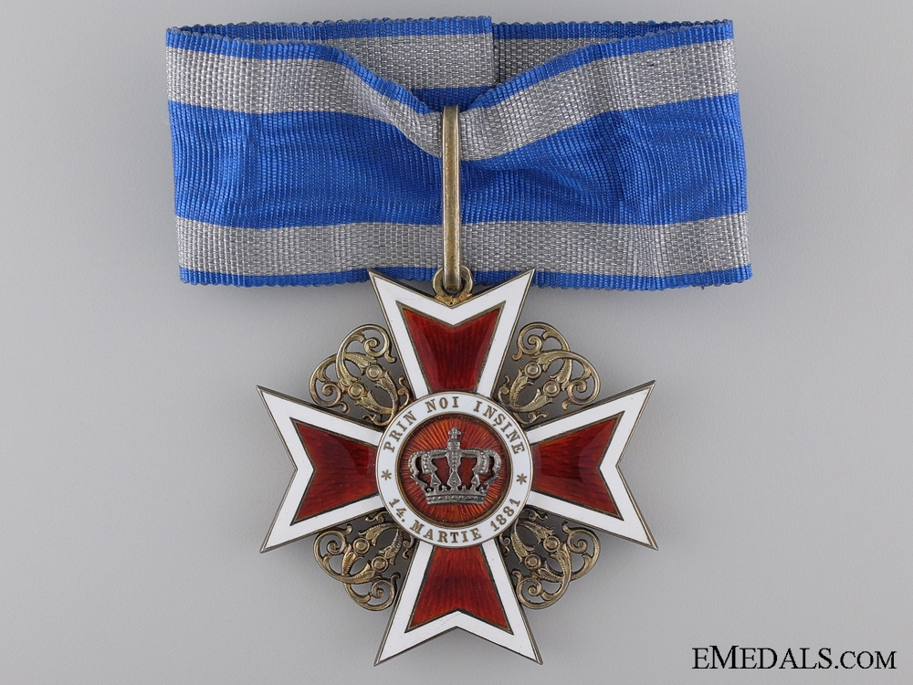 eMedals-A Order of the Crown; Commander's by K. Fischmeister Vienna