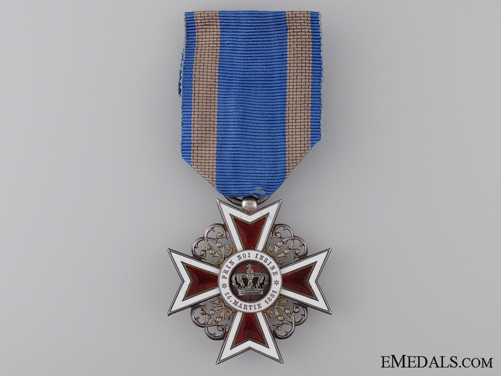 eMedals-A Order of the Crown of Romania, Knight; Type II 1881-1932