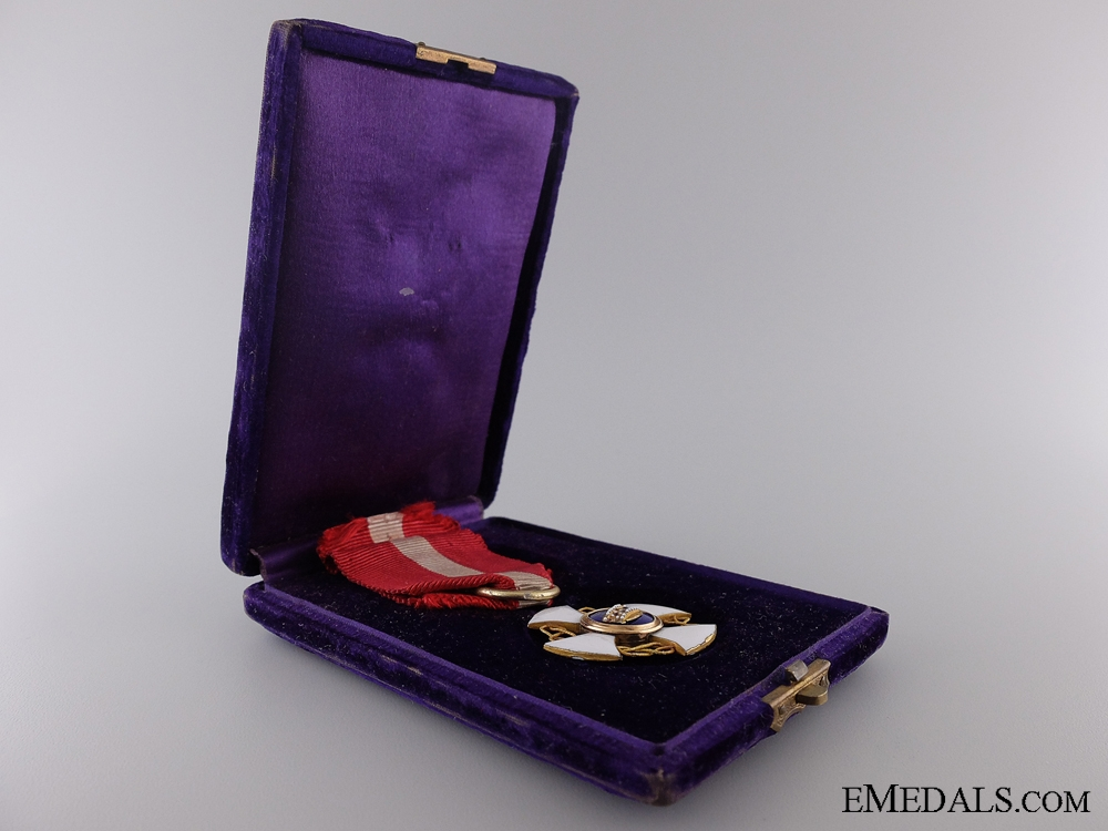 eMedals-Italy, Kingdom. A Order of the Crown, Awarded to Enrico Orengo, July 1884